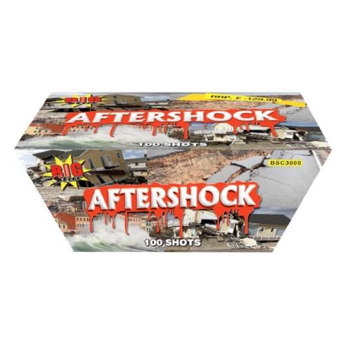 Aftershock fireworks barrage cake