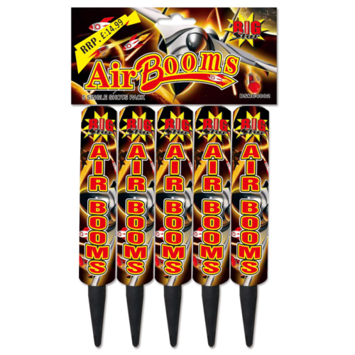 Air Booms roman candles fireworks