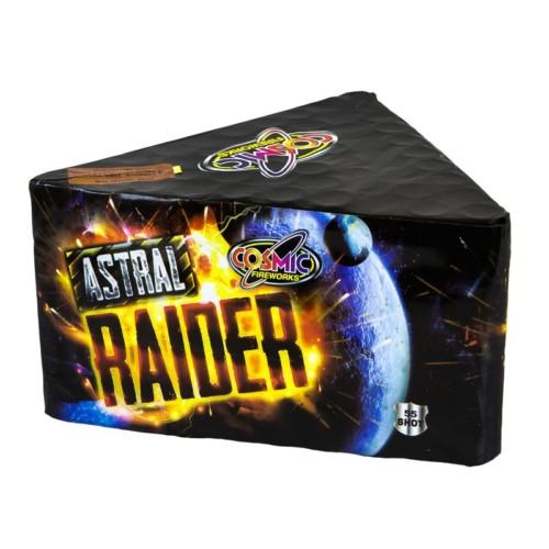 Astral Raider 3 minute firework cake
