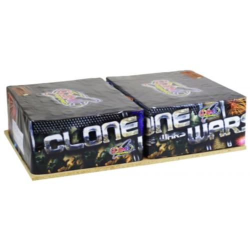 Clone Wars firework cakes