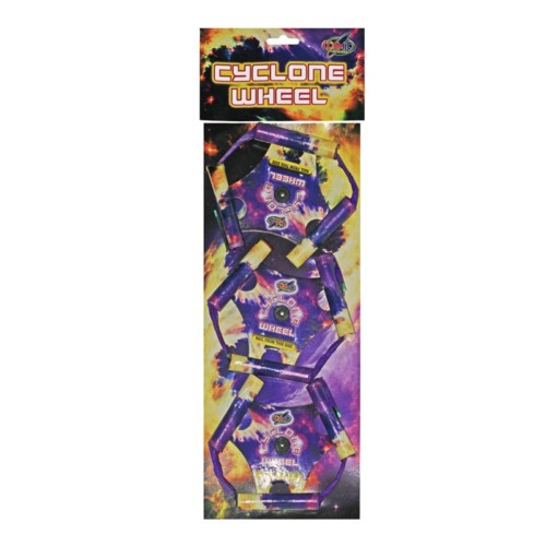 Cyclone Wheels spinning wheel firework