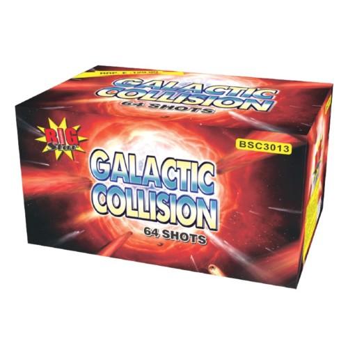 Galactiv Collision cake fireworks