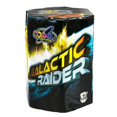 Galactic Raider 3 minute firework cake