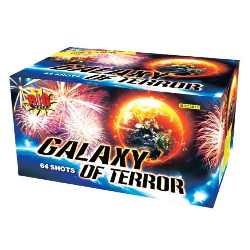 Galaxy of Terror fireworks barrage cake