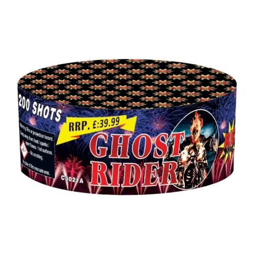 Ghost Rider cake fireworks