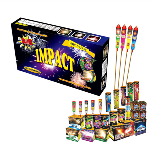 Impact firework box sets