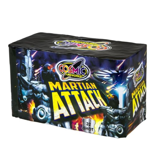 Martian Attack multi-shot fireworks