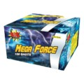 Mega Force fireworks barrage cake