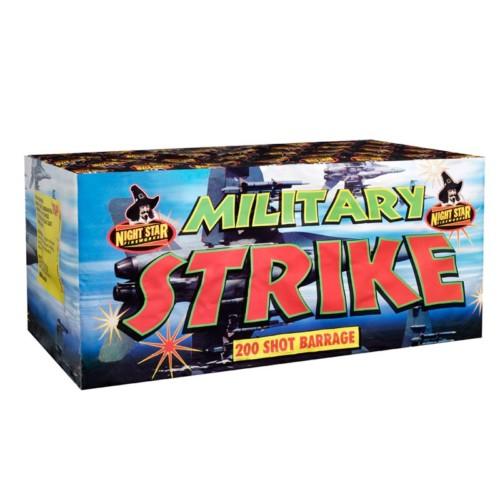 Military Strike multi-shot fireworks
