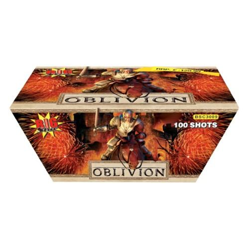 Oblivion cake fireworks