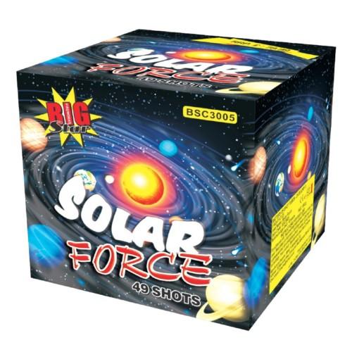 Solar Force fireworks barrage cake