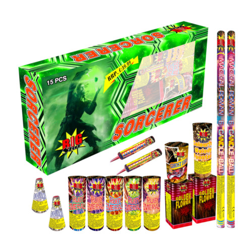 Sorcerer Selection Box firework packs