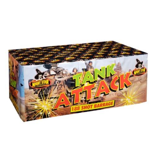 Tank Attack3 minute firework cake