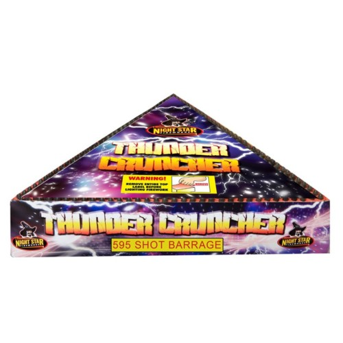 Thunder Cruncher firework missiles