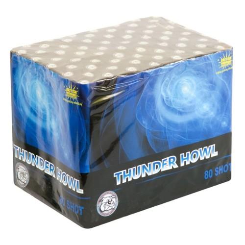 Thunder Howl 3 minute firework cake