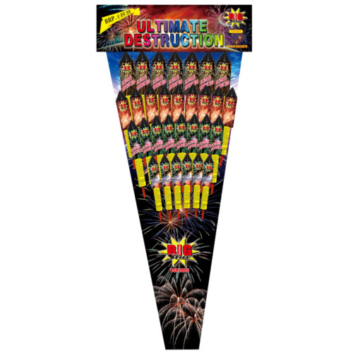 Ultimate Destruction fireworks rockets for sale