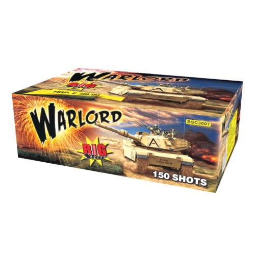 Warlord multi-shot fireworks