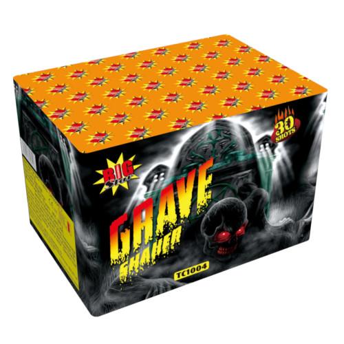 Grave Shaker 3 minute firework cake