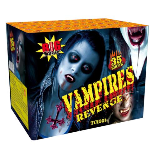 Vampires Revenge 3 minute firework cake