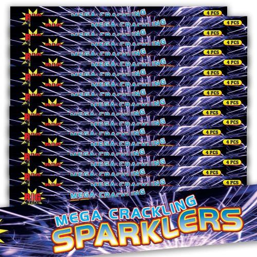 MEGA Cracling sparkler bundle 20 packets